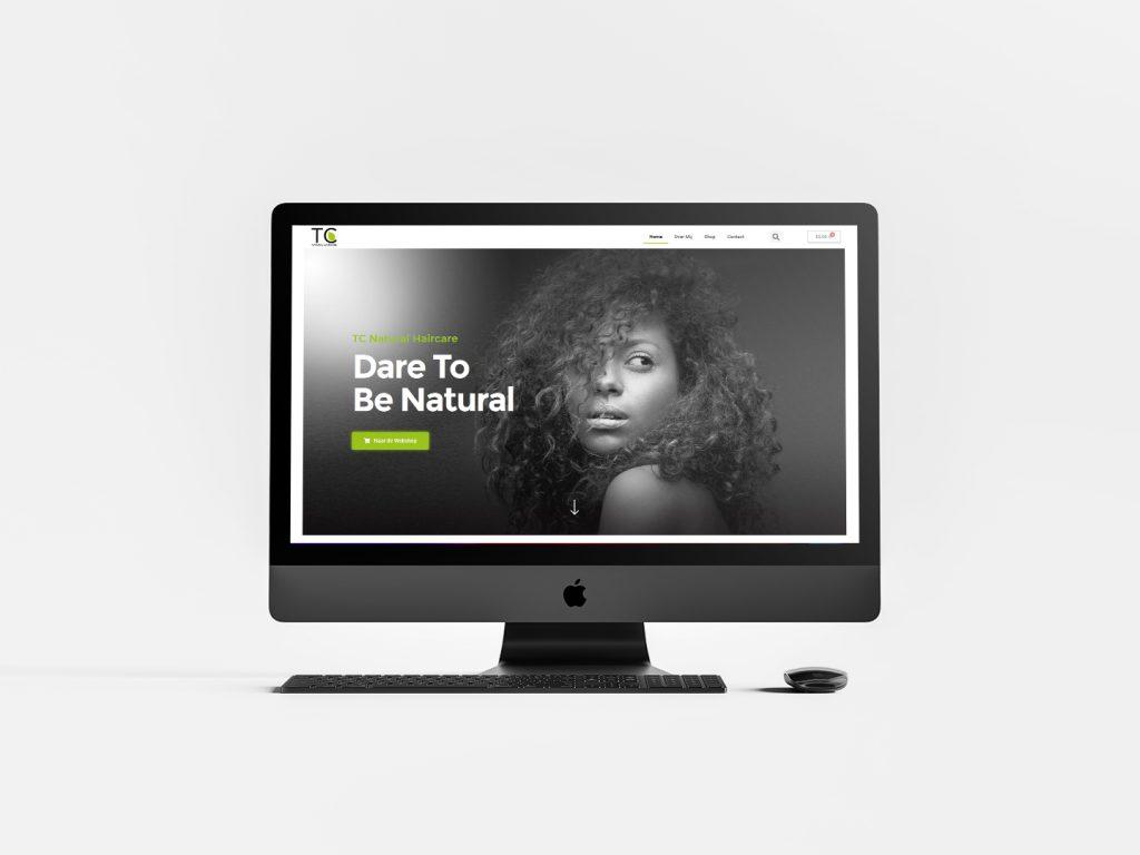 Website laten maken - TCNatrualHaircareShowcase