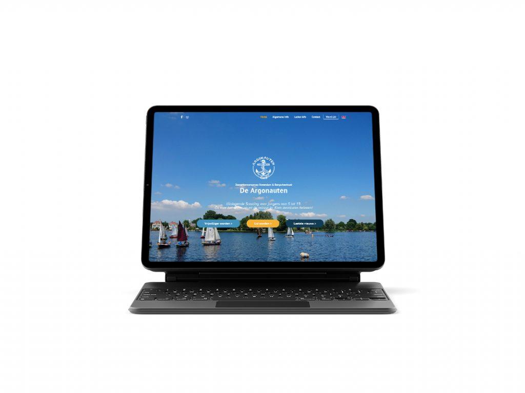 Website laten maken - Website laten maken door een student in Rotterdam Scouting De Argonauten